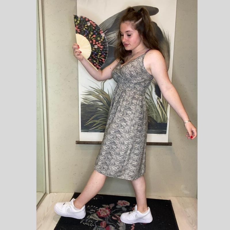robe d été bretelle courtee